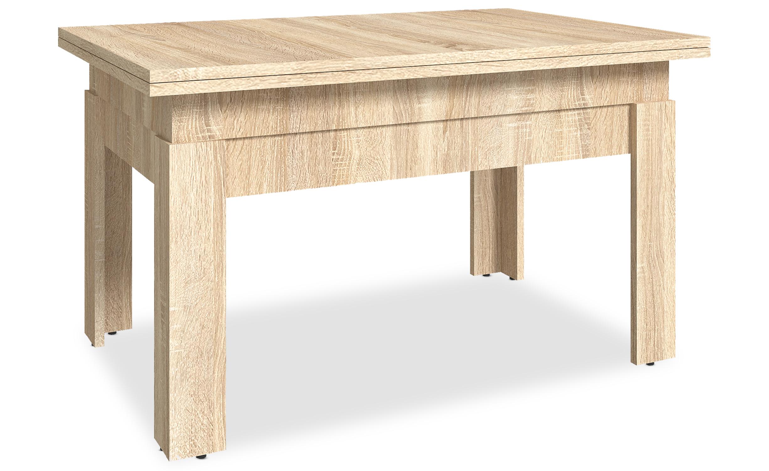 Table basse relevable Flytigo Chêne clair